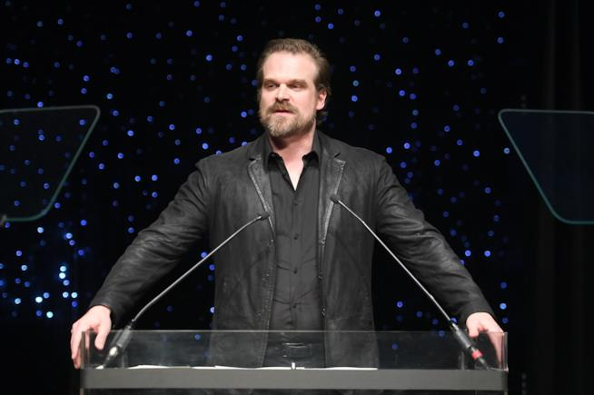 David Harbour di Stranger Things