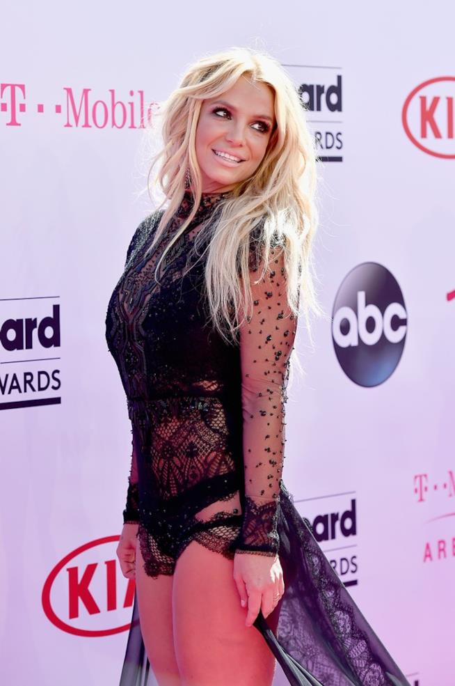 Britney Spears ai Billboard Music Award 2016 in