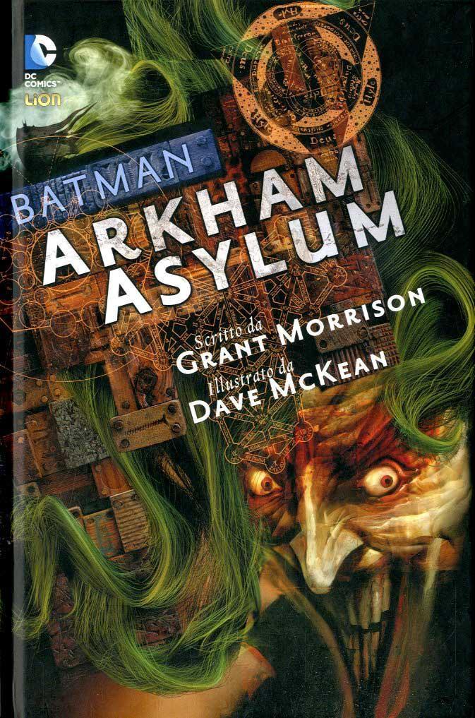 Copertina di Arkham Asylum versione Lion Comics