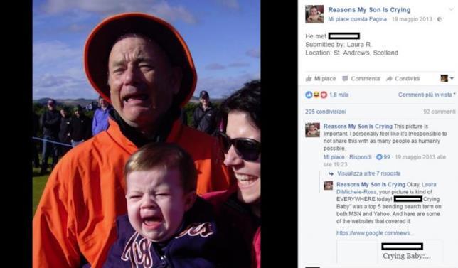 L'immagine di Bill Murray che sembra Tom Hanks
