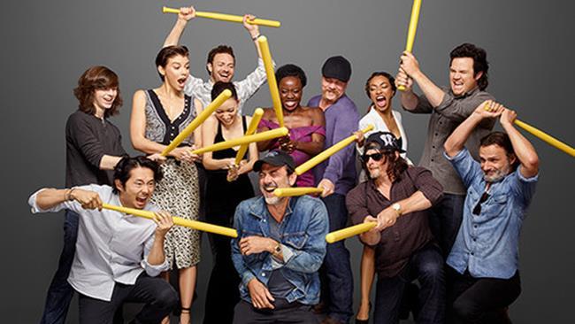 Il cast della serie TV The Walking Dead