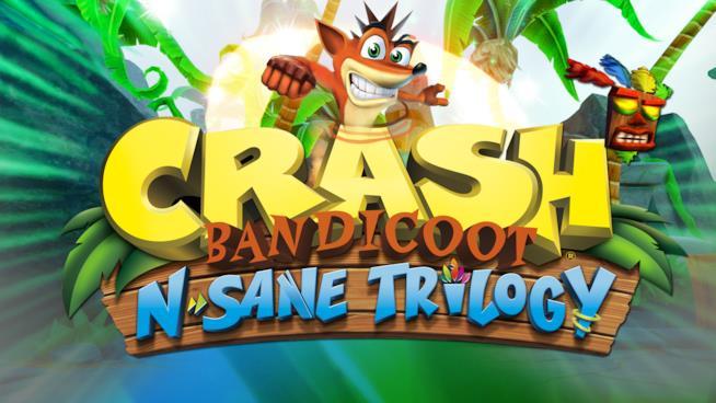 Immagine promozionale di Crash Bandicoot