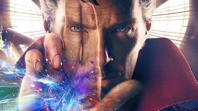 Benedict Cumberbatch indossa il costume da Stregone Supremo nel trailer