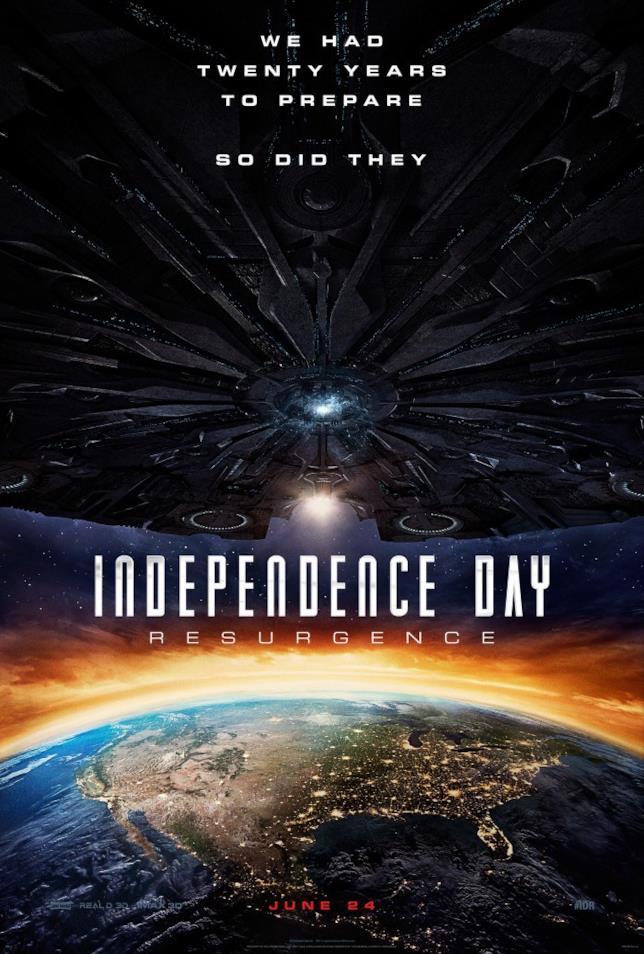 Independence Day: Rigenerazione in arrivo a giugno 2016