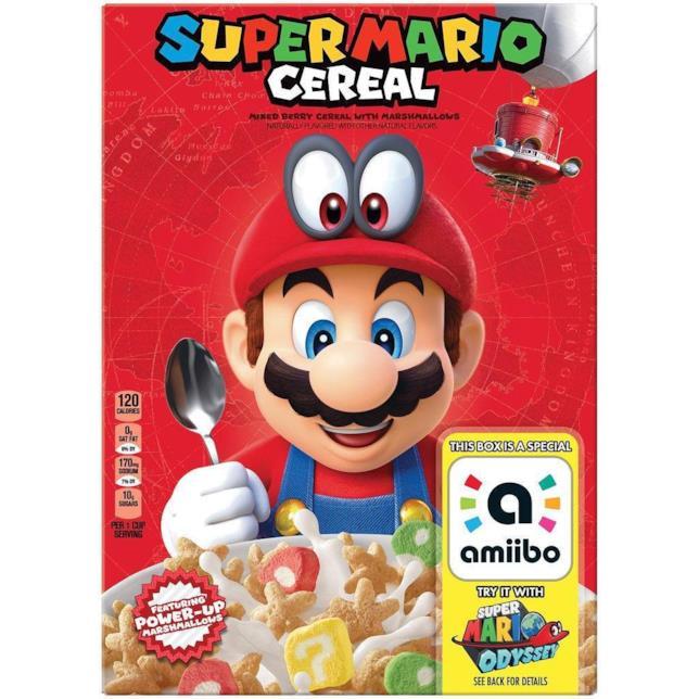 Kellogg's e Nintendo collaborano per i cereali di Super Mario