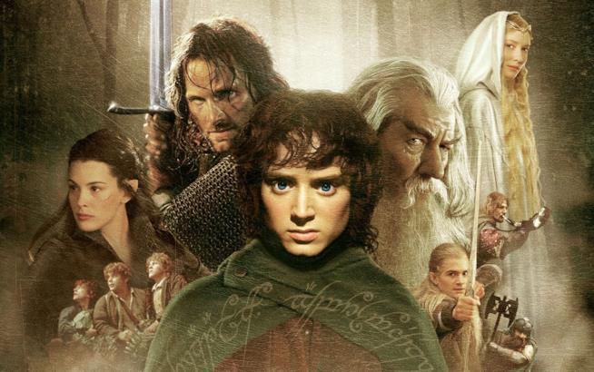 I protagonisti de Il Signore degli Anelli