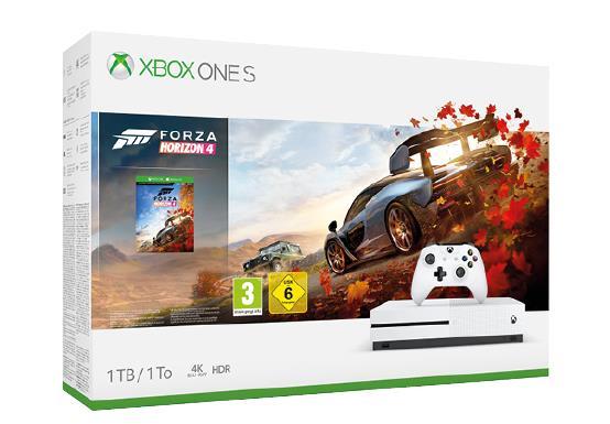 Immagine stampa di XBOX ONE S + FORZA HORIZON 4