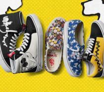 Modelli della nuova collezione Vans con Snoopy e i Peanuts