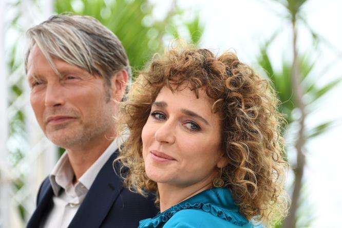 Mads Mikkelsen e Valeria Golino al photocall