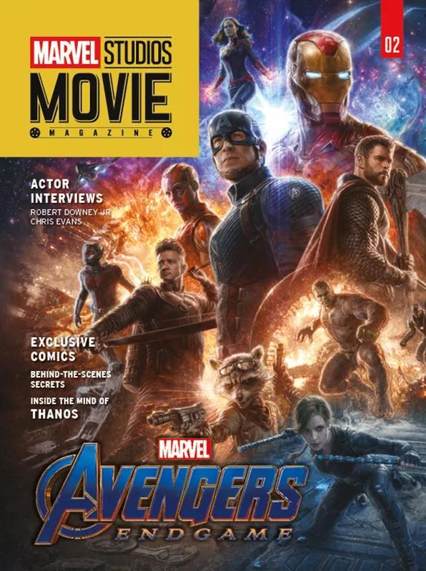 Cover di Marvel Studios Movie Magazine dedicata ad Avengers: Endgame