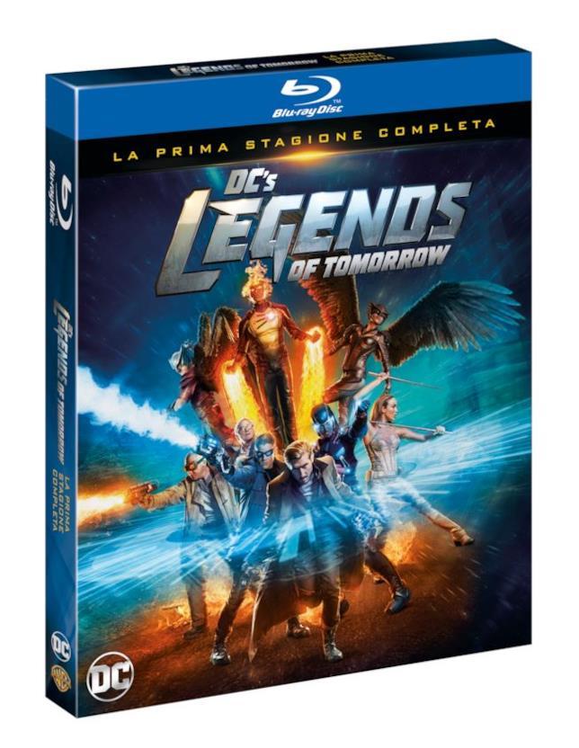 Il cofanetto Blu-ray di DC's Legends of Tomorrow - stagione 1