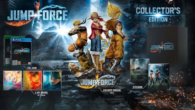 Jump Force contenuti Collector Edition