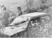 Una foto di repertorio: le indagini sul Mostro di Firenze