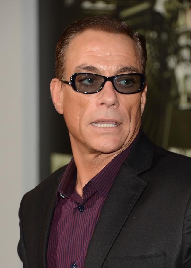 Jean-Claude Van Damme in primo piano