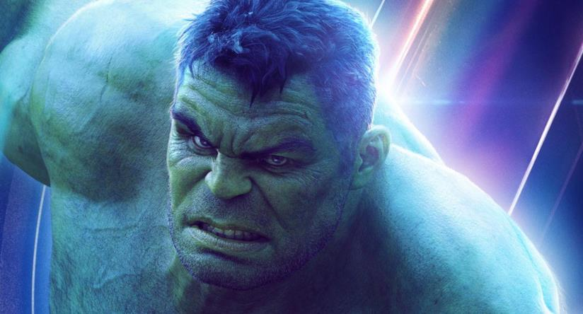 Hulk in un poster promozionale di Avengers: Infinity War