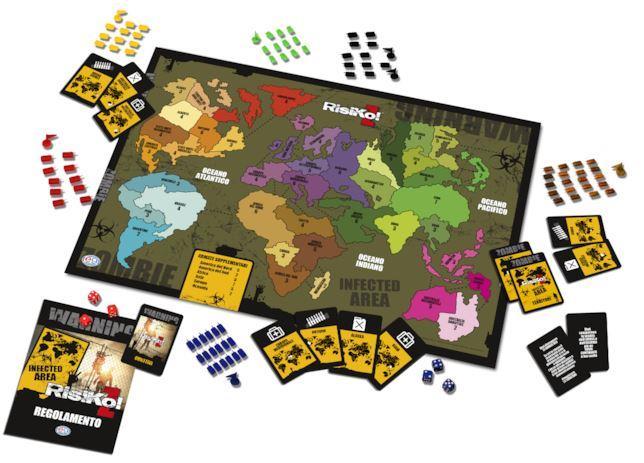La plancia di gioco di RisiKo! Z