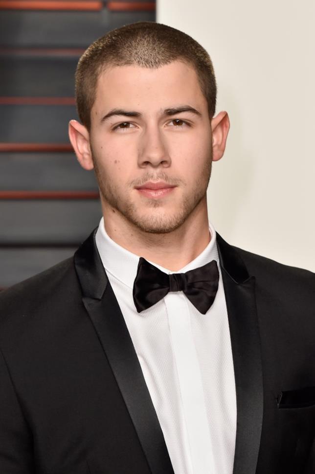 Nick Jonas in primo piano