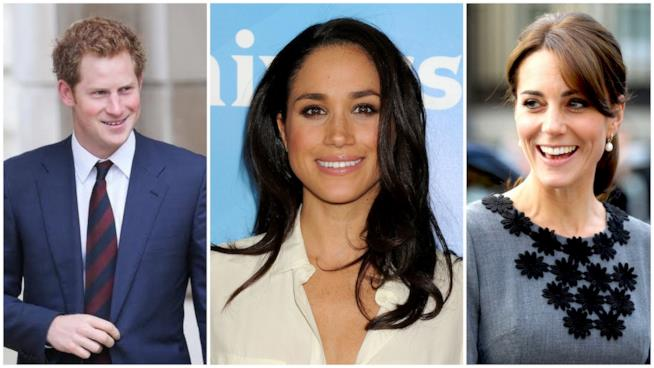 Il Principe Harry ha fatto conoscere Meghan Markle a Kate Middleton