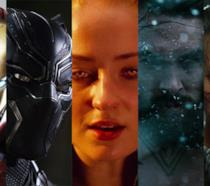 Le foto di Iron Man, Black Panther, Jean Grey, Aquaman, Cable