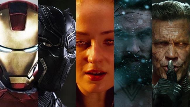 Le foto di Iron Man, Black Panther, Jean Grey, Aquaman, Cable