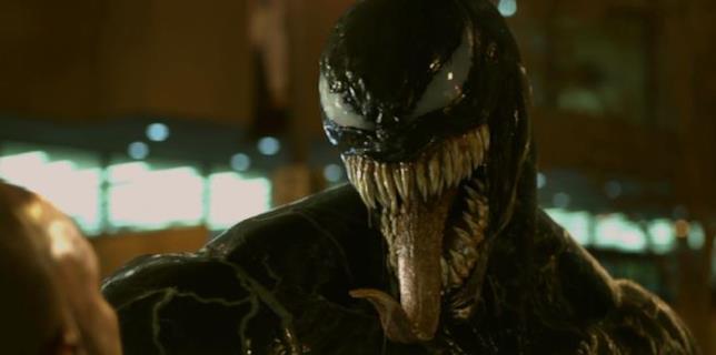 Una scena tratta da Venom