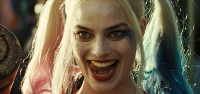 Harley Quinn interpretata da Margot Robbie