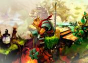 Il protagonista di Bastion sulla cover del videogame