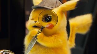 Un primo piano di Detective Pikachu
