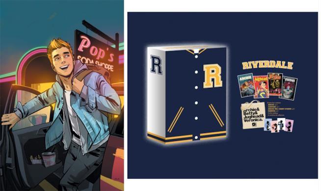 Archie e il box da collezione dell'universo a fumetti di Riverdale