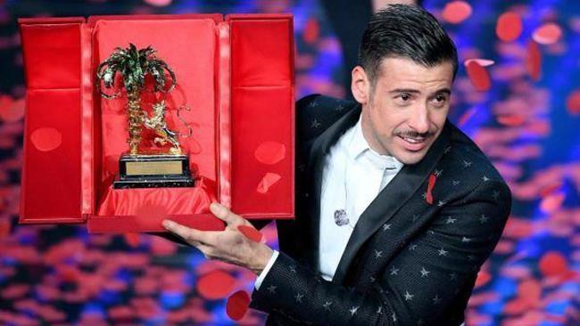 Francesco Gabbani, vincitore Sanremo 2017