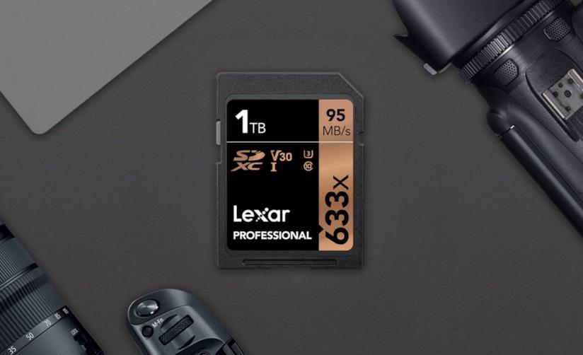 Lexar lancia la prima SD card da 1 TB battendo sul tempo SunDisk