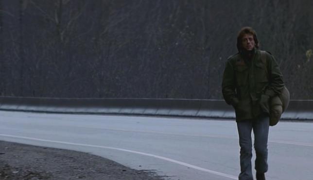 Stallone in una scena del primo Rambo