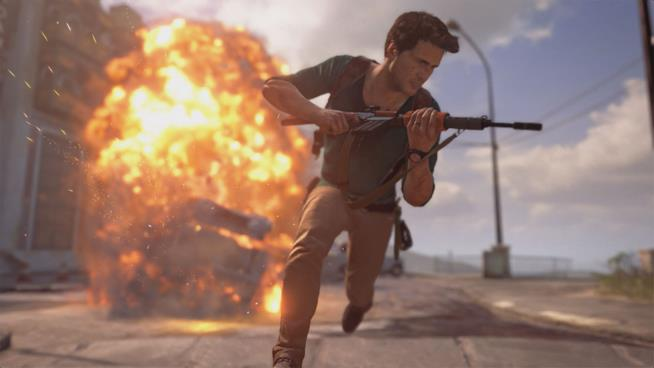 Frame del gioco Uncharted 4