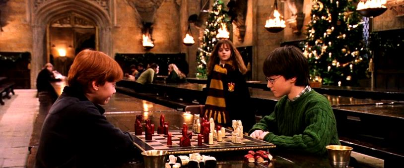 Il Natale in Harry Potter