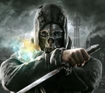 La cover ufficiale del primo capitolo di Dishonored