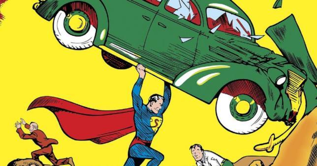 L'esordio di Superman su Action Comics 1