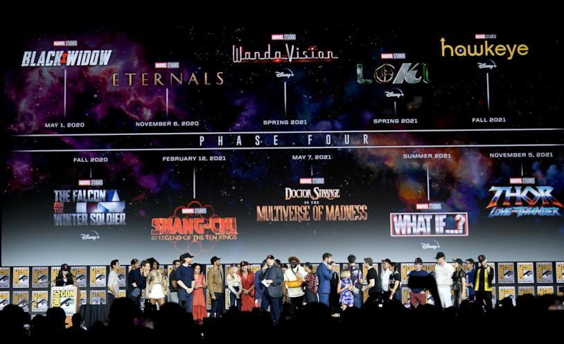 Conferenza Marvel Studios San Diego Comic-Con 2019