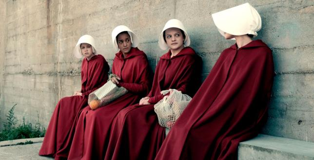 Le ancelle protagoniste di The Handmaid's Tale