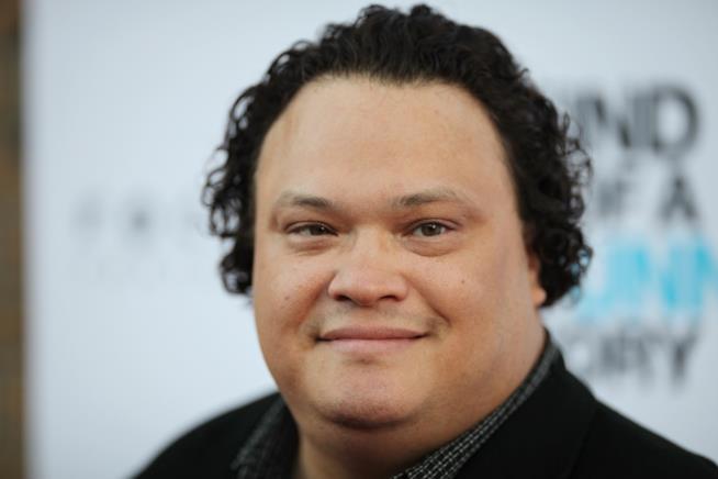 L'attore Adrian Martinez in una foto scattata durante una premier