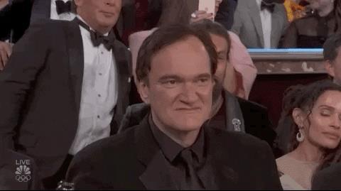 Tarantino brinda ai Golden Globes 2020