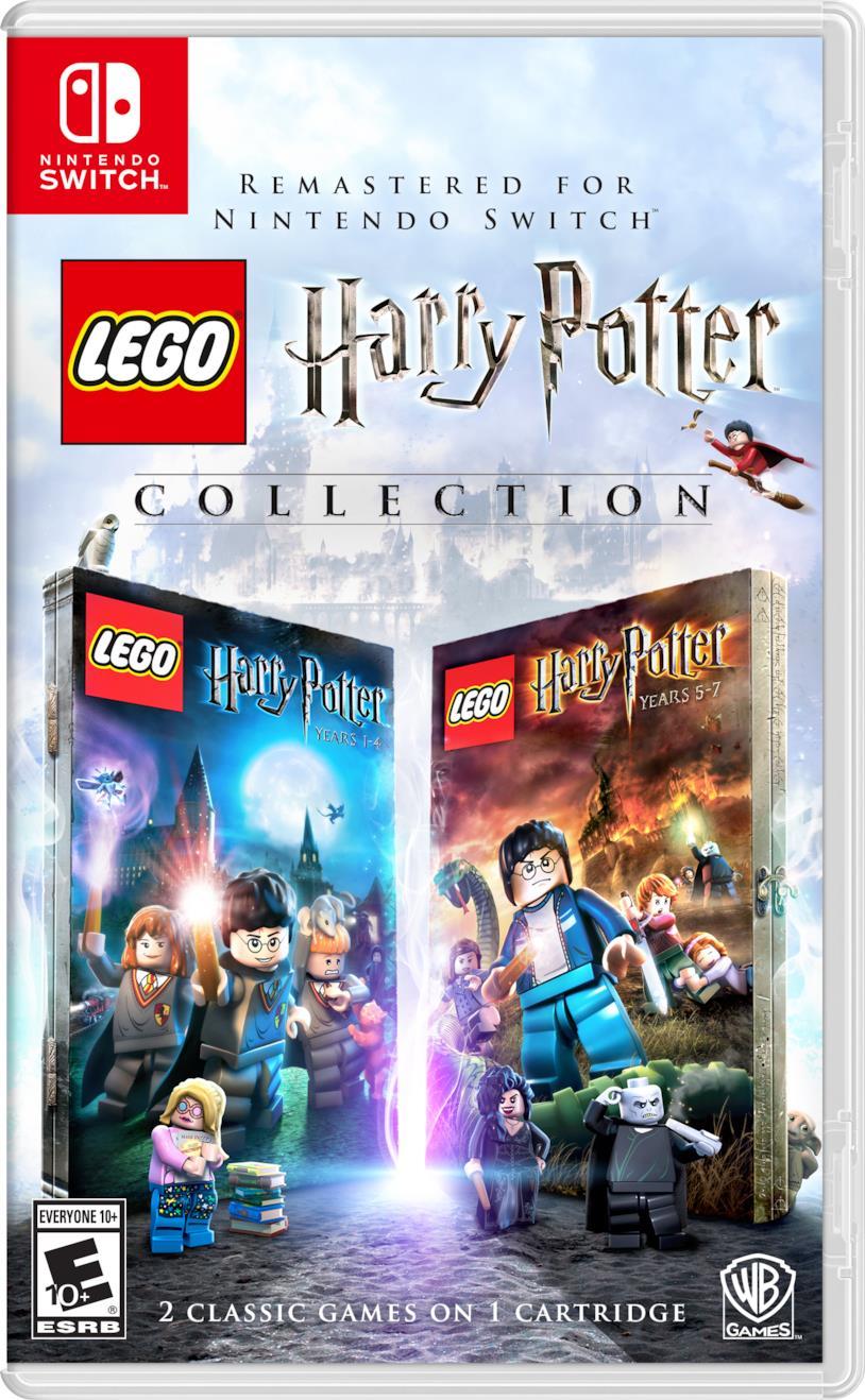 La boxart di LEGO Harry Potter Collection in formato Switch