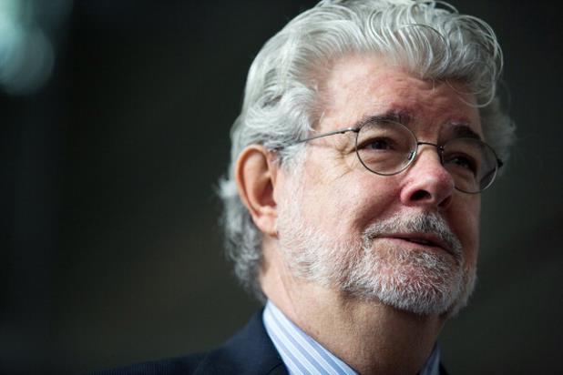 Un primo piano recente di George Lucas