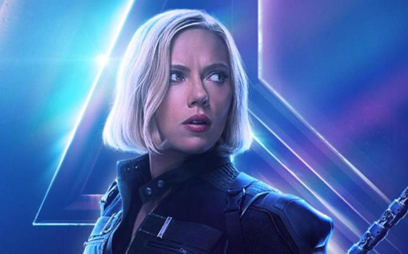 Character poster di Avengers: Infinity War dedicato a Vedova Nera