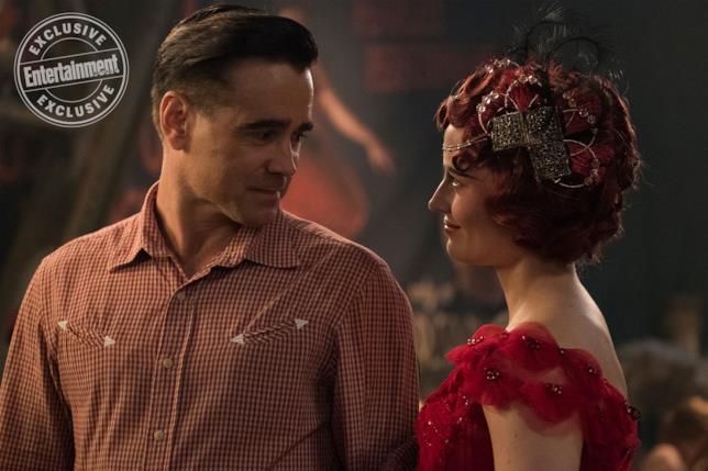 Colin Farrell e Eva Green