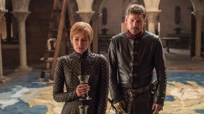 Cersei e Jaime Lannister in GoT 7x01