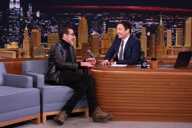 Jeffrey Dean Morgan ospite di Jimmy Fallon al The Tonight Show