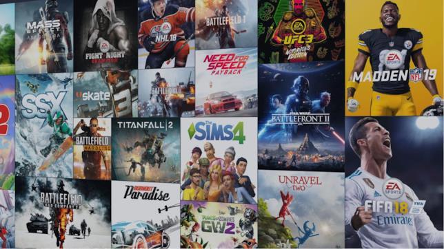 Immagine promozionale del Vault di EA Access