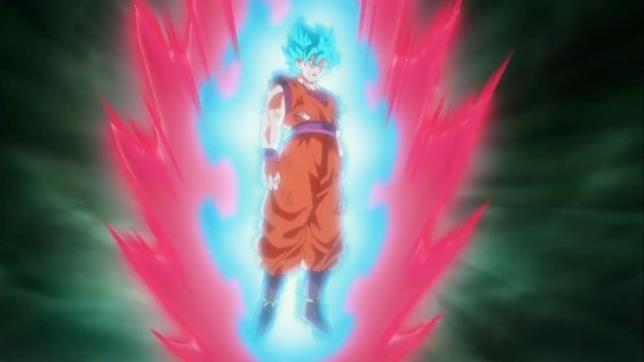 Kaioh-Ken Super Saiyan Blue