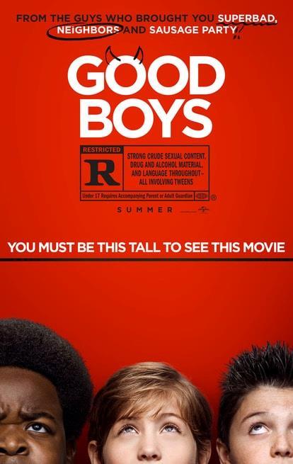 Il poster ufficiale di Good Boys