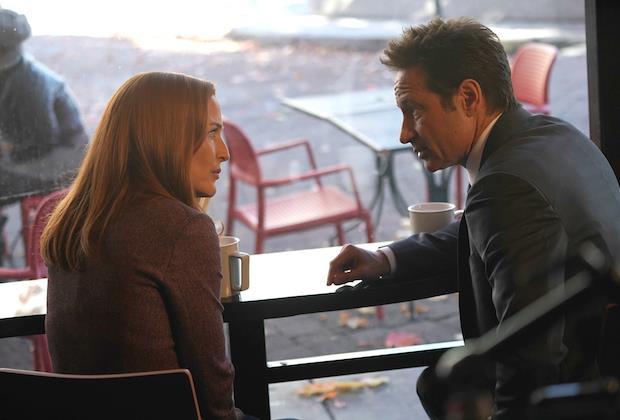 X-Files: Mulder e Scully in un'immagine dal quinto episodio della stagione 11
